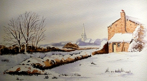 Watercolour courses in Norfolk for improvers