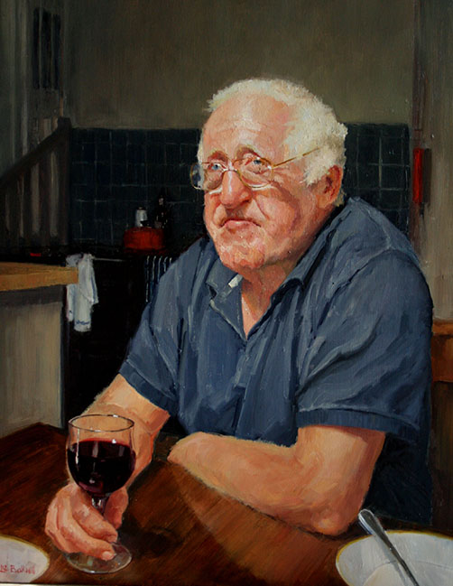 Three day portrait course in oils art course in Norfolk