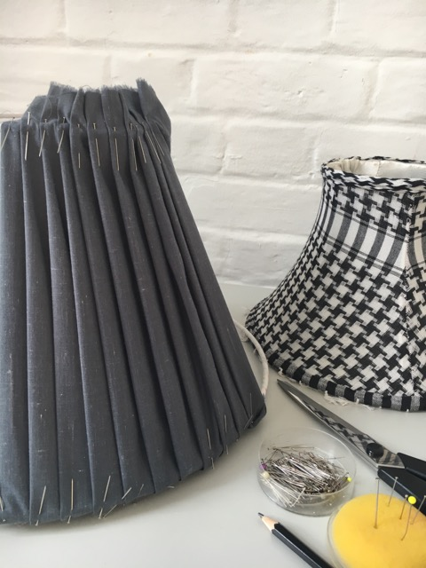 Pleated lampshade course norolk