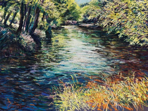 Woodland Colours and Flowing Water workshop with Robert Dutton