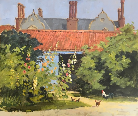 Painting plein air in oils with Mo Teeuw